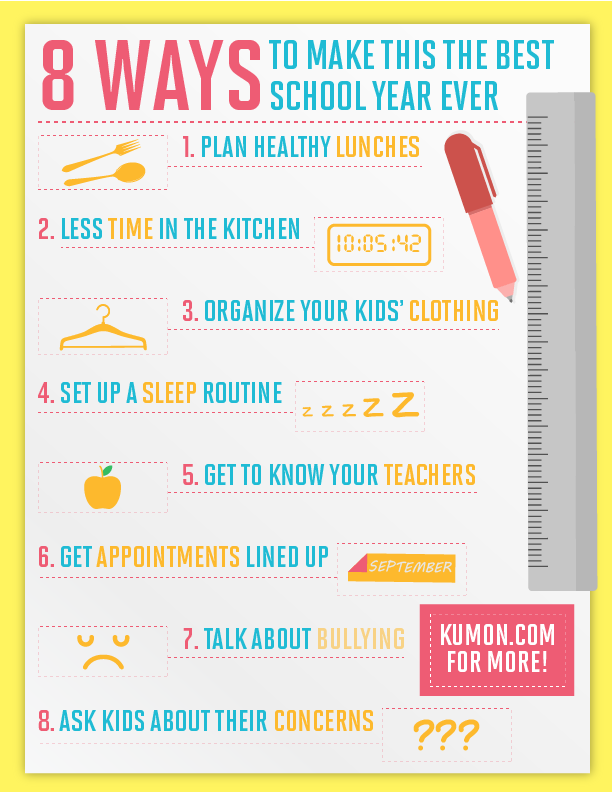 8 ways to make this the best school year ever