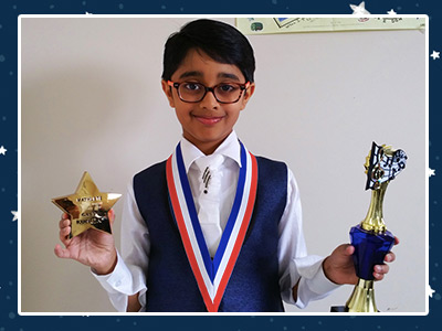 Darshil and His Awards