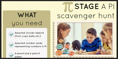 stage a Pi scavenger hunt