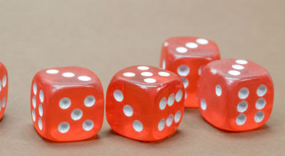mental math tip - play dice