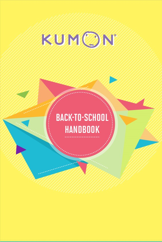 Study Skills - kumon back-to-school handbook