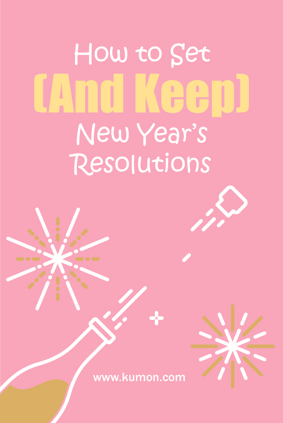 math tips - how to set and keep new years resolutions