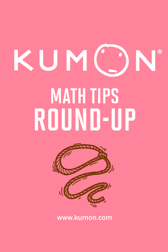 math tips - the Kumon math tips round-up