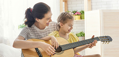 playing an instrument has been shown to improve a child's development
